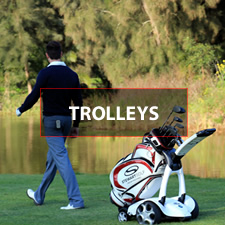 Huge selection of push and electric golf trolleys. Clicgear golf Trolley, Motocaddy M1 Golf Trolley