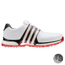 Adidas Golf Tour 360 XT Golf Shoes (White/Black/Red)