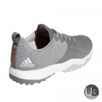Adidas Adipower 4Orged S Golf Shoes (Grey and White)