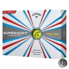 Callaway Golf Supersoft Golf Balls Yellow