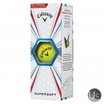 Callaway Golf Supersoft Golf Ball Yellow