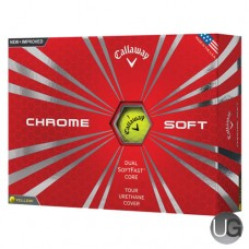 Callaway Golf Chrome Soft Golf Balls Yellow