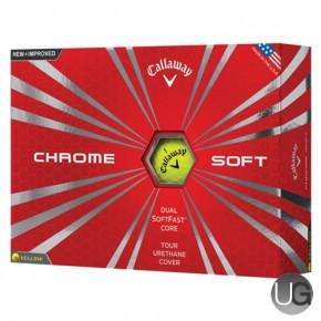 Callaway Golf Chrome Soft Golf Balls Yellow