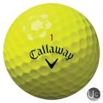 Callaway Chrome Soft X Golf Balls Yellow