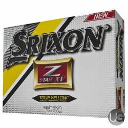 Srixon Z Star XV Golf Balls Yellow