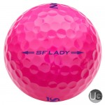 Srixon Ladies Soft Feel Golf Balls Pink