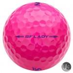 Srixon Ladies Soft Feel Golf Balls Pink