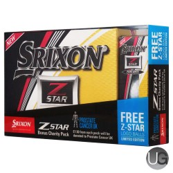 Srixon Z Star Prostate Cancer Bonus Pack Golf Balls