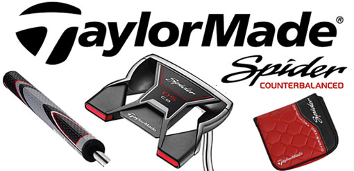 Taylormade Spider OS Counterbalanced Putter