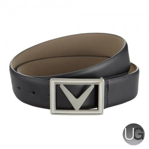 Callaway Golf Modern Chev Leather Belt