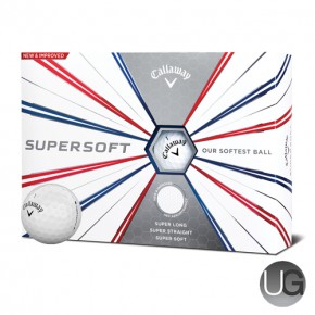 Callaway Golf Supersoft 12 Ball Pack 2019