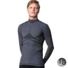 Megmeister Drynamo Warm Baselayer Shirt High Neck Black