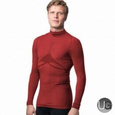 Megmeister Drynamo Warm Baselayer Shirt High Neck Red