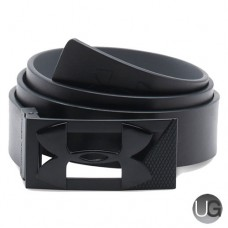 Under Armour PU Leather Reversible Two Tone Buckle Golf Belt - Black