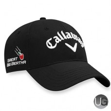 Callaway Golf 2017 Mens TA Performance Pro Cap Moisture-Wicking UV Protection Black