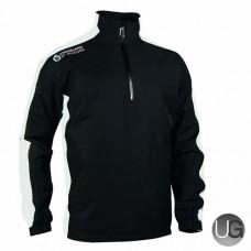 Sunderland Vancouver 1/2 Zip Waterproof Golf Jacket (Black)