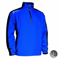 Sunderland Vancouver 1/2 Zip Waterproof Golf Jacket (Electric/Blue)
