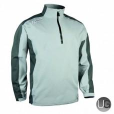 Sunderland Vancouver 1/2 Zip Waterproof Golf Jacket (Silver/Gunmetal/Lime)