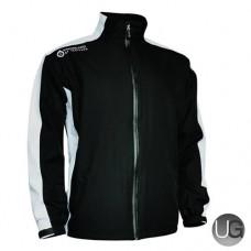 Sunderland Vancouver Waterproof Golf Jacket (Black/White)