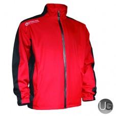 Sunderland Vancouver Waterproof Golf Jacket (Garnet/Black/White)
