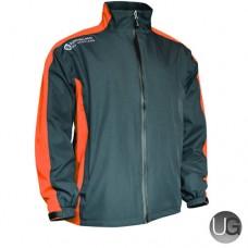 Sunderland Vancouver Waterproof Golf Jacket (Gunmetal/Orange/Burst/White)