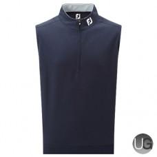 FootJoy Spun Poly Half Zip Vest (Navy)