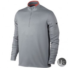 Mens Nike Dry Half-Zip Golf Top - Wolf Grey