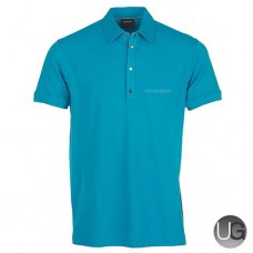 Galvin Green Mills Golf Shirt (Lagoon Blue)