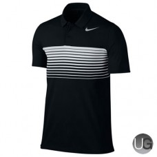 Mens Nike Mobility Speed Stripe Golf Polo