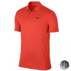 Mens Nike Victory Solid LC Golf Polo - Orange