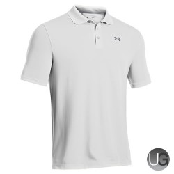 Under Armour Mens Performance Golf Polo Shirt - White