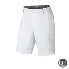 Nike Modern Fit Washed Golf Shorts (White)