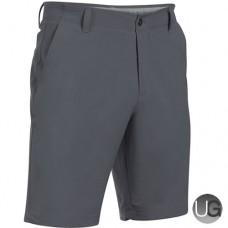 Under Armour Mens Match Play Taper Shorts - Rhino Gray