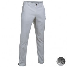Under Armour Mens Match Play Patterned Taper Trousers - Overcast Gray