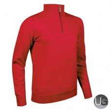 Glenmuir Ava Zip Neck Jumper - Garnet