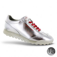 Duca Del Cosma Ladies Marquessa Golf Shoes - Silver