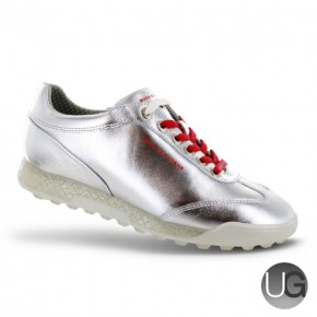 Duca Del Cosma Ladies Marquessa Golf Shoes - Silver