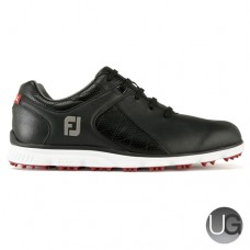 Footjoy Pro/SL Golf Shoes (Black/White/Red)