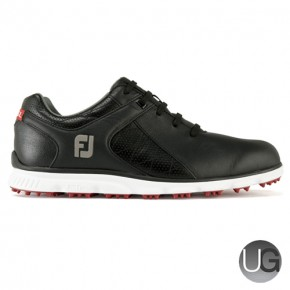 Footjoy Pro SL Golf Shoes (Black, White and Red)