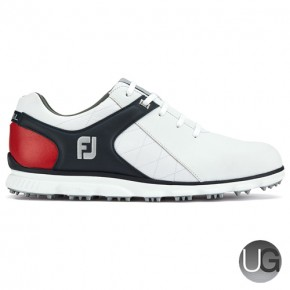 FootJoy Pro/SL Golf Shoe (White/Navy/Red)