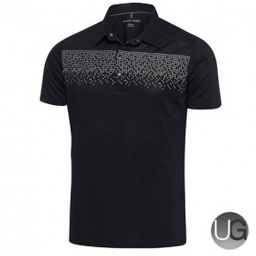 Galvin Green Mens Marcel VENTIL8 PLUS Polo Shirt (Beluga/Snow)