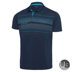 Galvin Green Mateo Golf Shirt V8 Shirt (Navy/RiverBlue/Snow)