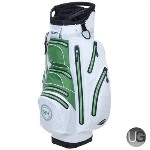 BIG Max I-Dry Aqua O Waterproof Golf Cart Bag (White Lime)