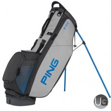 PING 4 Series Stand Bag (Grey/Birdie Blue)