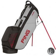 PING 4 Series Stand Bag (Grey/Red)