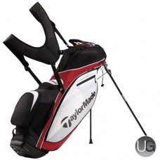 TaylorMade 2016 TourLite Golf Stand Bag (Red/White/Black)