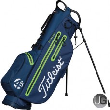 Titleist 4UP StaDry Waterproof Golf Stand Bag Charcoal Lime