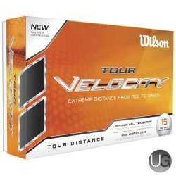 Wilson Tour Velocity Distance Golf Balls 15 Ball Pack