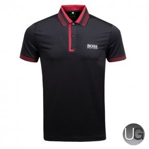Hugo Boss Paddy Pro 1 Golf Shirt Black - AW18