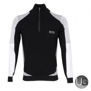 Hugo Boss Zelchior Pro Zip Neck Sweater